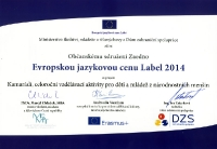 Kamarádi - cena Label