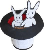 Králíci v klobouku, 3 žáci, 14-15 let, němčina a angličtina